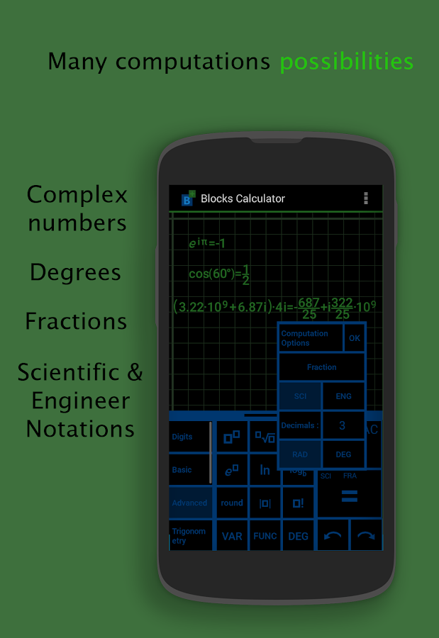 Blocks Scientific Calculator Screenshot 3