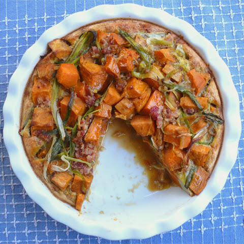 Paleo Sweet Potato Quiche