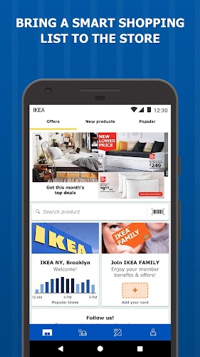 IKEA Store Android App Screenshot