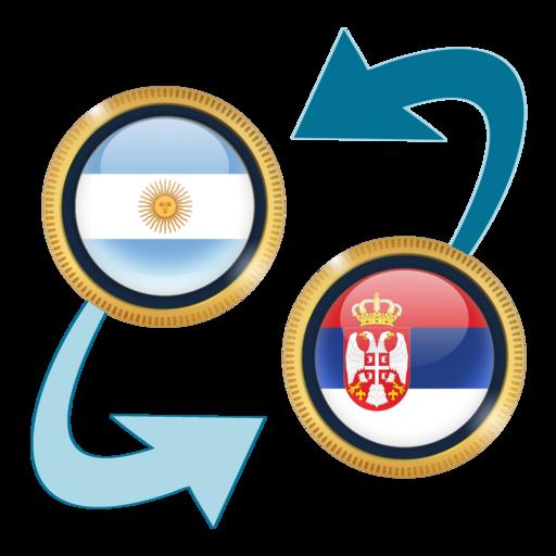 Android aplikacija Argentine Peso x Serbian Dinar