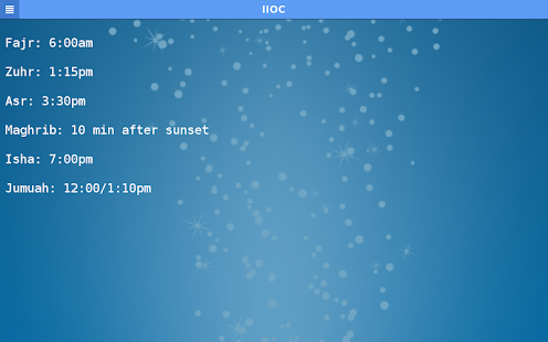 IIOC Mobile - screenshot