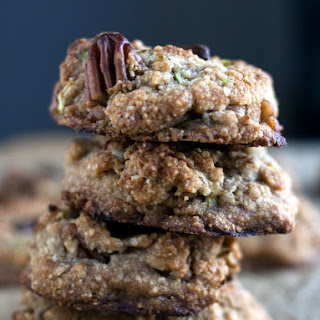 Zucchini-Bread Cookies With Pecans And Chocolate