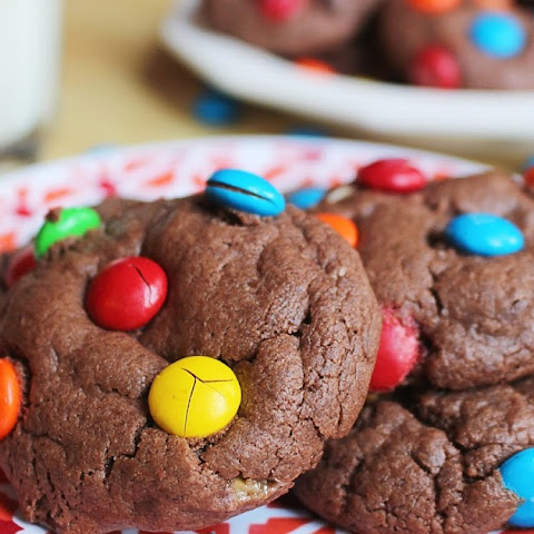 Milk Chocolate Candy Cookies