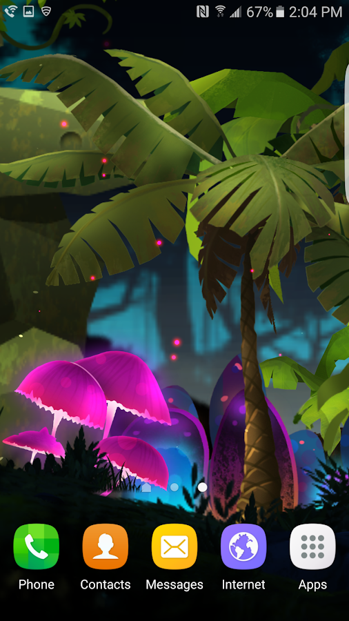 Fantasy Mushroom Jungle LWP Screenshot 4