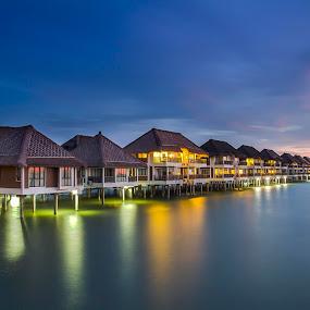 Avani Sepang Goldcoast Resort by Andy Teoh - Landscapes Waterscapes ( avani, seascape, hotel, landscape, morib )