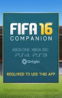 Screenshot of EA SPORTS™ FIFA 16 Companion