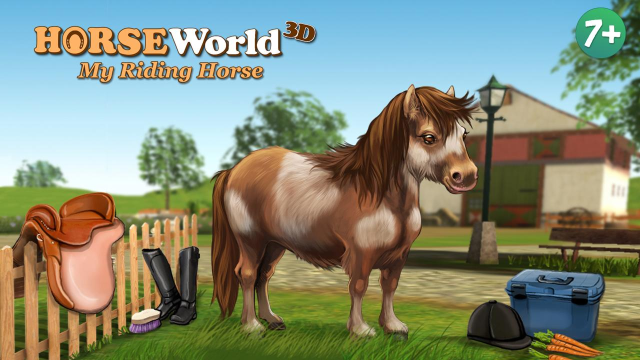 HorseWorld 3D LITE Screenshot 0