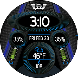 NX 09 Watchface for WatchMaker app for android