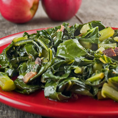 Garlicky Collard Greens