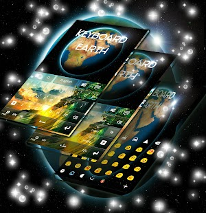 Earth HD GO Keyboard - screenshot