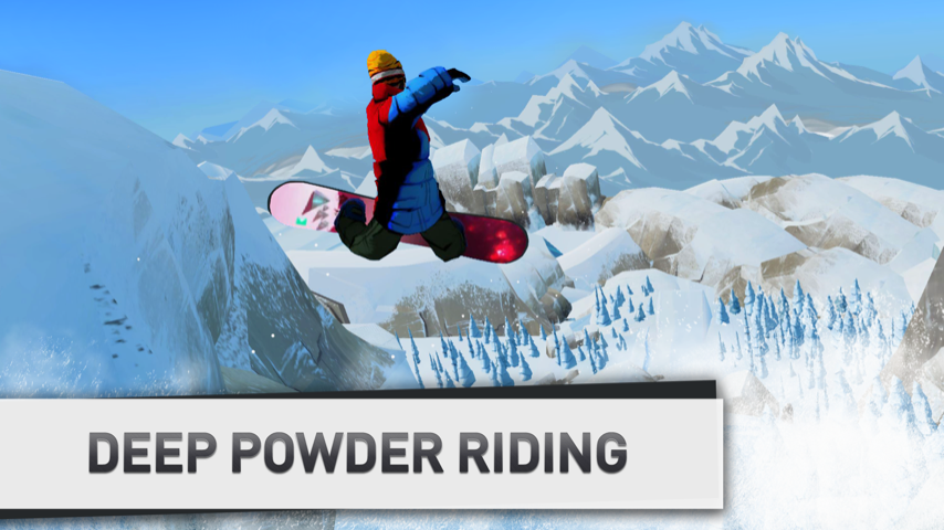 Snowboarding The Fourth Phase Screenshot 1