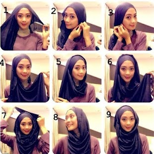 Easy Hijab Tutorials - screenshot
