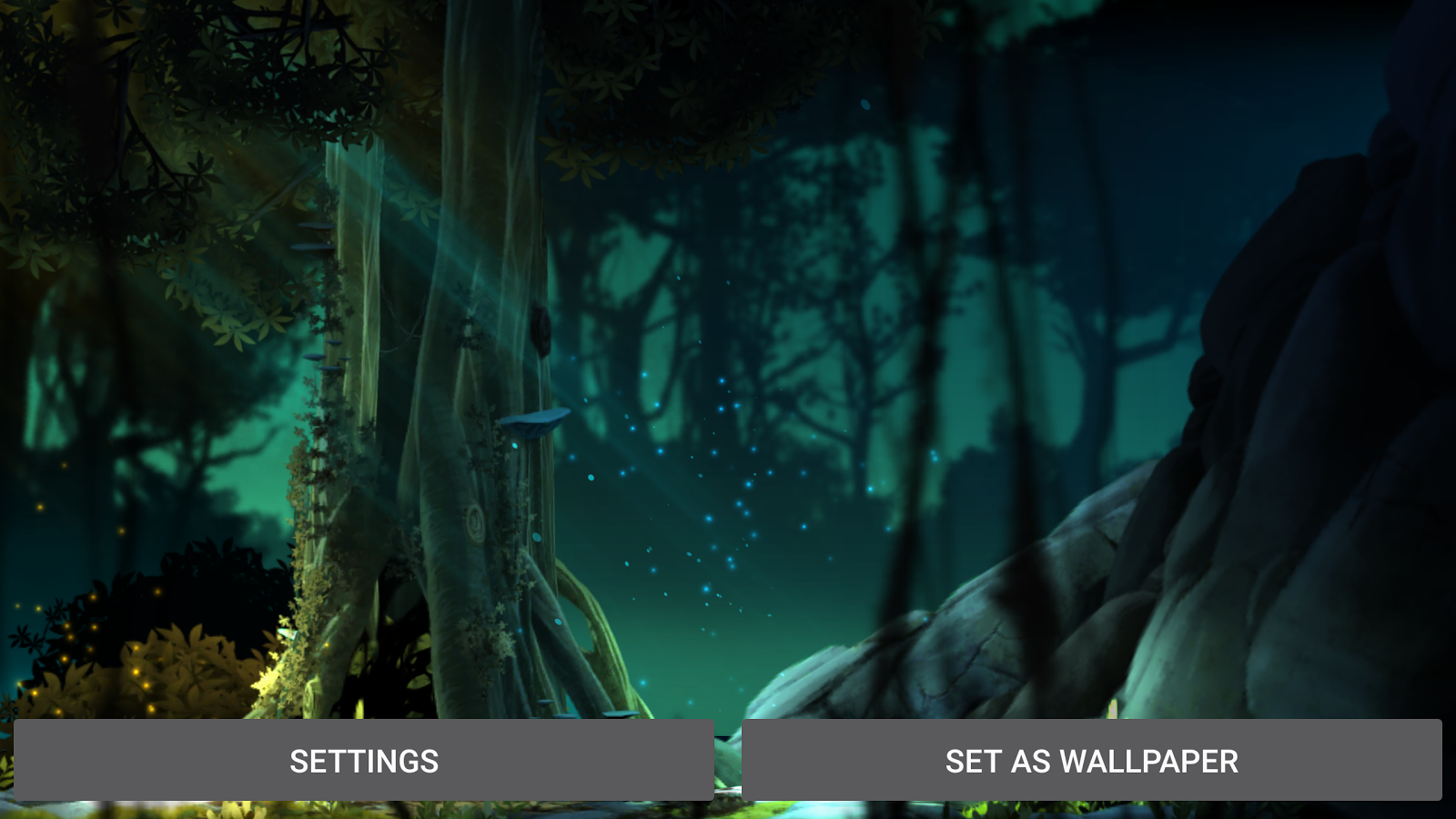 Fantasy Jungle Live Wallpaper Screenshot 8