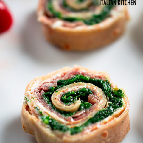 Buckwheat Crepes Rolls With Ham And Spinach Gluten Free