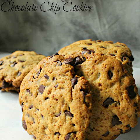 Gluten Free Giant Chocolate Chip Cookies