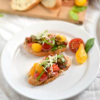 Bruschetta Flatbread Recipes