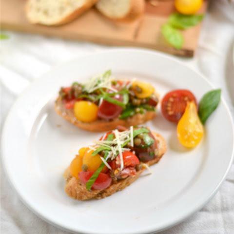 Tomato-Garlic Focaccia - My Vegan Italian Flatbread Recipes ...