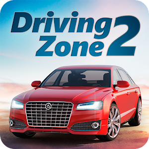 Driving Zone 2 - racing simulator with realistic physics and stunning graphics APK Icon