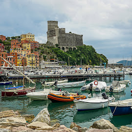 Lerici by Zdenka Rosecka - City,  Street & Park  Historic Districts