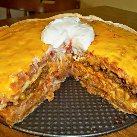 Spicy Green Chile Mexican Casserole With Ground Beef ...