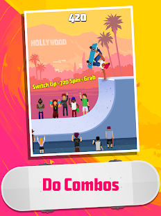 Halfpipe Hero - Skateboarding Game Arcade Screenshot