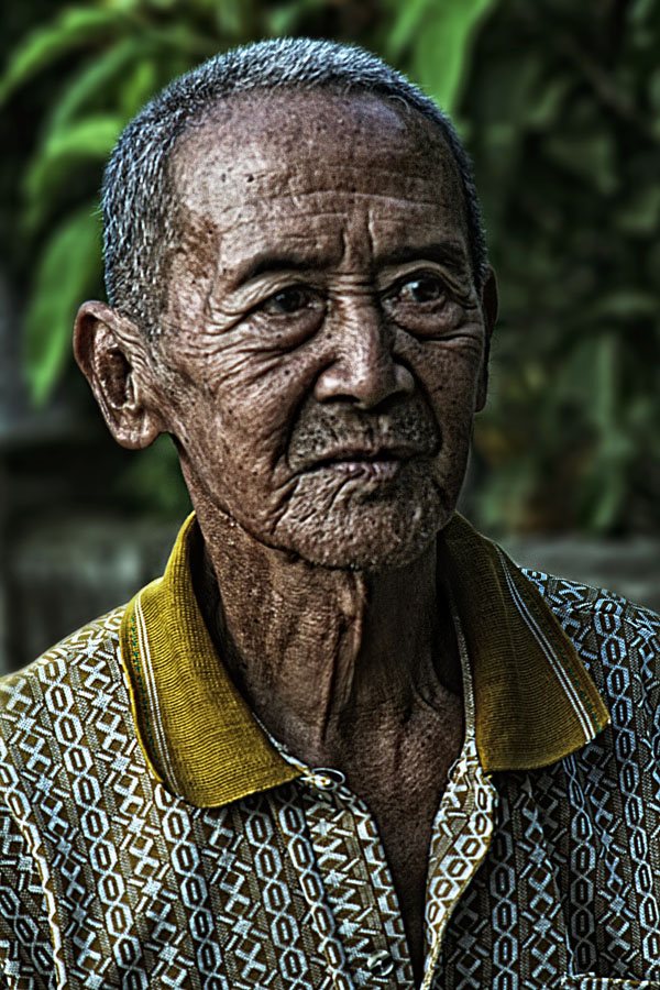Senyum Bapak Tua by Sang Adam - People Portraits of Men