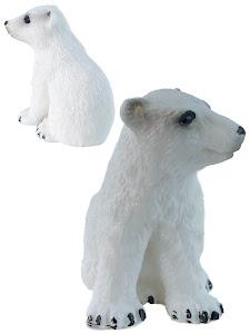 "Игрушка-фигурка серии ""Город Игр"", белый медвежонок S3"