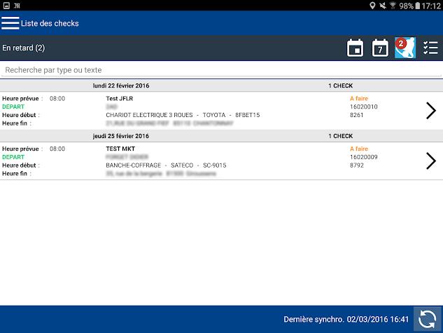 iMOB™ Check Screenshot