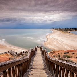 Port Noarlunga by Steve Badger - Landscapes Beaches ( south australia, port noarlunga, australia, adelaide, beach )