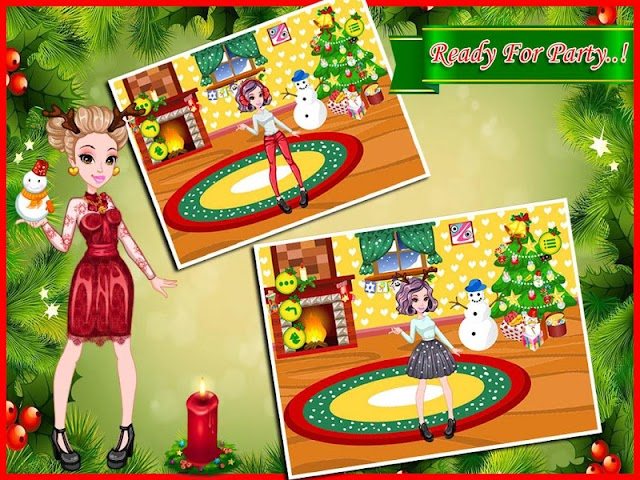 android Christmas Party - Makeup Salon Screenshot 7