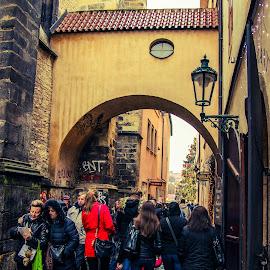Crowd in Prague  by Igor Modric - People Street & Candids