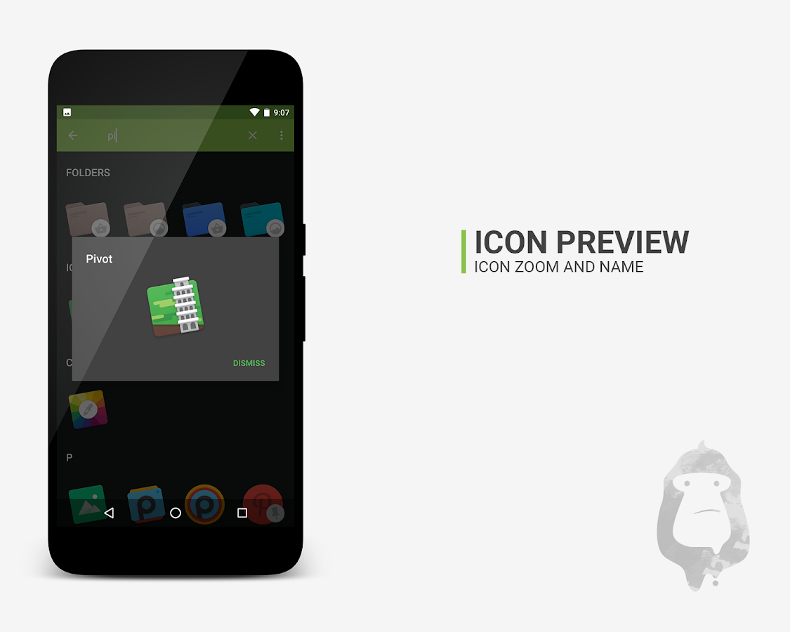 Pivot icon pack Screenshot 4