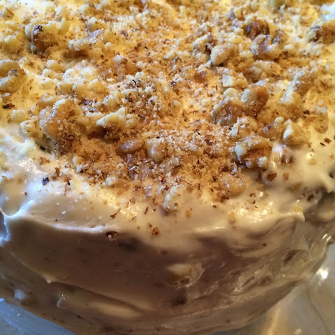 Gluten Free Carrot Cake with Buttermilk Cream Cheese Frosting