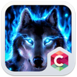 Ice Wolf Theme C Launcher for PC-Windows 7,8,10 and Mac