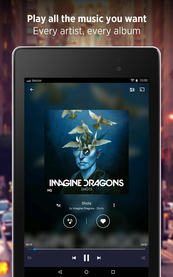 Deezer - Songs & Music Player Screenshot 10