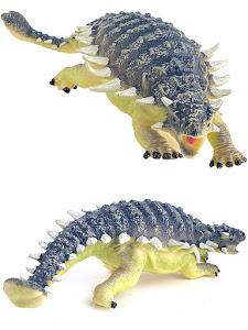 "Игрушка-фигурка серии ""Город Игр"", динозавр анкилозавр L, со звуком"