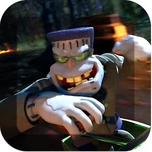 3D Zombies Race Live Wallpaper APK