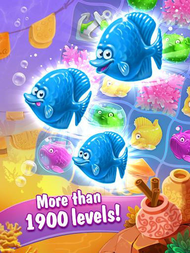 Viber Mermaid Puzzle Match 3 screenshot 10