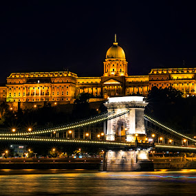 Budapest chain bridge by Samrat Sam - Buildings & Architecture Bridges & Suspended Structures