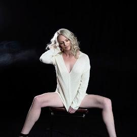 Legs by Chris O'Brien - People Portraits of Women ( beautiful, woman, legs, model, blond,  )