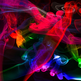 by Habeeb Alagangan - Abstract Light Painting