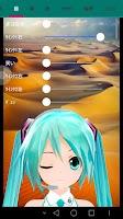 Screenshot of MikuMikuPhoto