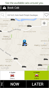 EasyRide Cabs - Book now. - screenshot