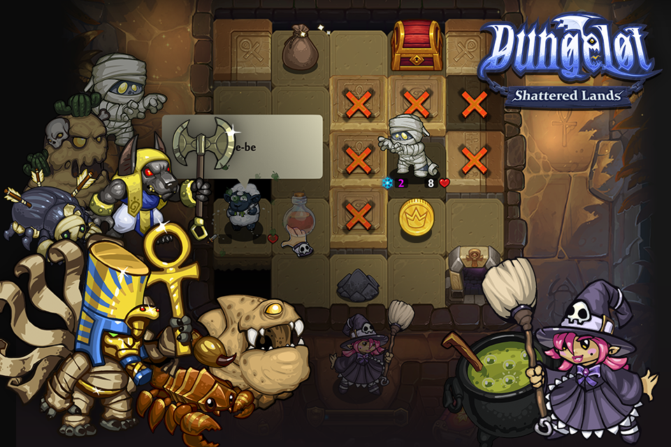 Dungelot Shattered Lands Screenshot 4