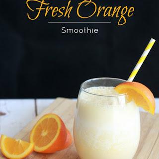 Fresh Orange Smoothie Recipes