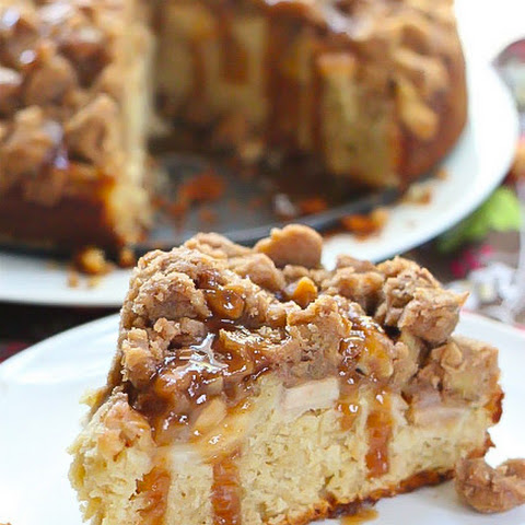 Apple Caramel Coffee Cake