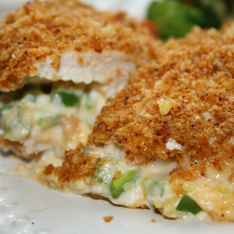 Low Carb Jalapeno Popper Chicken Skillet