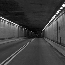 Lighted Tunnel by Terry Linton - Buildings & Architecture Architectural Detail