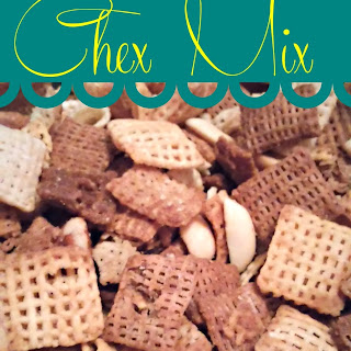 Homemade Chex Mix! The Best You'll Ever Have!