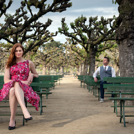 Lovers  by Michael Keel - People Couples ( golden gate park, engagement shoot, san francisco, engagement )